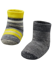 SmartWool Baby Bootie Batch Light Gray Heather