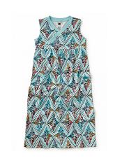 Tea Collection Monastero Maxi Dress (Girls)
