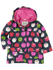 Hatley Nordic Apples Lined Raincoat (Baby/Toddler)