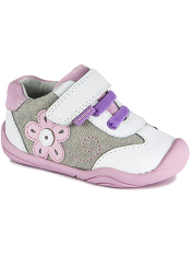 pediped Grip 'n' Go Claudia White Pink