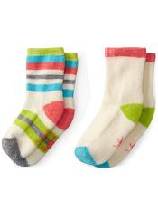 SmartWool Baby Sock Sampler Natural