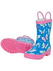 Hatley Icy Butterflies Rain Boots