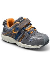 Stride Rite Made 2 Play Baby Knox Grey/Orange