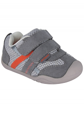 pediped Grip 'n' Go Gehrig Grey Orange