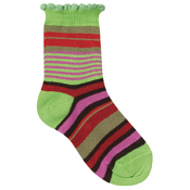 Country Kids Rich Stripe Sock Moss