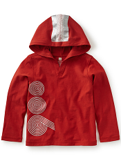 Tea Collection Novecento Happy Hoodie (Boys)