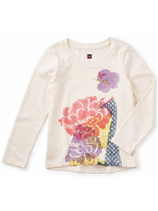Tea Collection Hatsuki Graphic Tee (Girls)