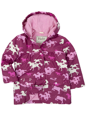 Hatley Fairy Tail Horses Lined Raincoat (Baby/Toddler)