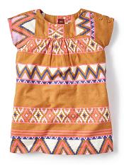 Tea Collection Oruro Twill Dress