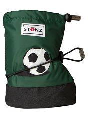 Stonz Booties Soccer Ball Dark Green