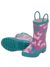 Hatley Graphic Butterflies Rain Boots