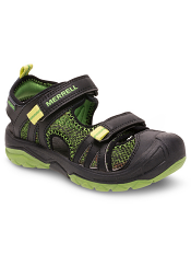 Merrell Hydro Rapid Sandal Black/Green (Kids/Youth)