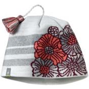 SmartWool Kids Warm Floral Stripe Hat Natural