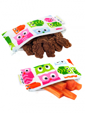 Itzy Ritzy Snack Happens Mini Bag Hoot 2 Pack