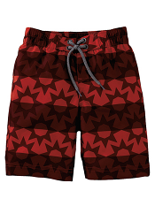 Tea Collection Red Star Stripe Board Short