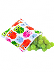 Itzy Ritzy Snack Happens Snack Bag Hoot