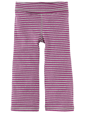 Tea Collection Pop Stripe Bootcut Pants Heather Rose