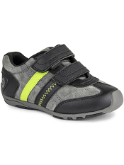 pediped Flex Gehrig Black/Charcoal