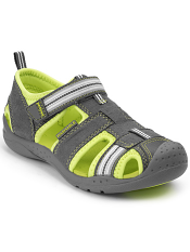 pediped Flex Sahara Grey/Citron