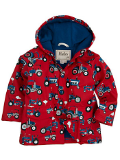 Hatley Farm Tractors Lined Raincoat (Baby/Toddler)