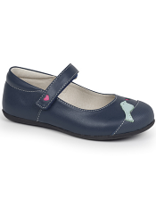 Kai by See Kai Run Kathryn II Navy/Light Blue