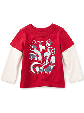 Tea Collection Zodiac Graphic Tee (Baby Boys)