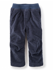 Tea Collection Lined Corduroy Baby Pants Indigo (Baby Boys)