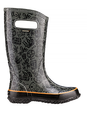 Bogs Kids' Rain Boots Pirates Gray