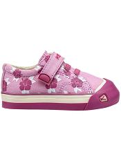 KEEN Coronado Print Lilac Chiffon/Hibiscus Flower Tots/Kids