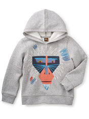 Tea Collection Saru Fleece Hoodie (Boys)