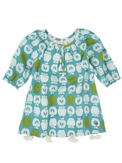 Hatley Tasseled Tunic Silhouette Orchard Apples