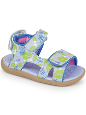 See Kai Run Makena Blue Floral