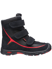 KEEN Trezzo WP Black/Ribbon Red Kids/Youth