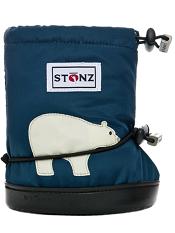 Stonz Booties Polar Bear Navy Blue