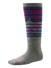 SmartWool Kids Slopestyle Lincoln Loop Light Gray