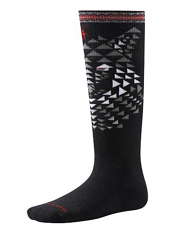 SmartWool Kids Wintersport Wolf Black