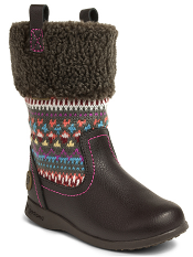 pediped Flex Kacie Boot Chocolate