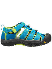 KEEN Newport H2 Hawaiian Blue/Green Glow Kids/Youth