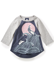 Tea Collection Dowa Rabbit Graphic Tee (Girls)
