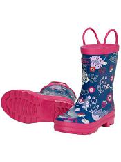 Hatley Field Flowers Rain Boots