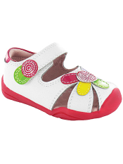 pediped Grip 'n' Go Daisy White Multi