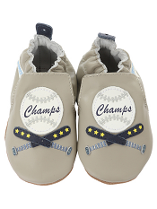 Robeez Champ Cool Grey (Soft Soles)