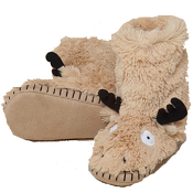 Hatley Slouch Slippers Moose