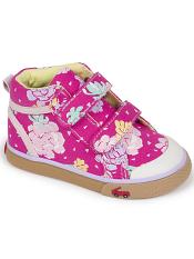 See Kai Run Kya Floral/Hot Pink