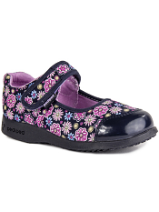 pediped Flex Becky Navy Floral