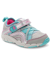 Stride Rite Made 2 Play Baby Serena Silver/Blue