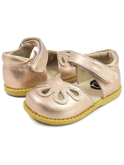 Livie & Luca Petal Rosegold Metallic (Toddler/Kids)