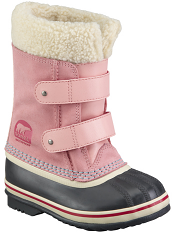 Sorel Children's 1964 Pac Strap Boot Coral Pink