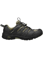 KEEN Koven Low WP Black/Burnt Olive Kids/Youth