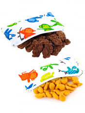 Itzy Ritzy Snack Happens Mini Bag Monkey Mania 2 Pack